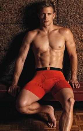 jockey mens underwear model red boxers