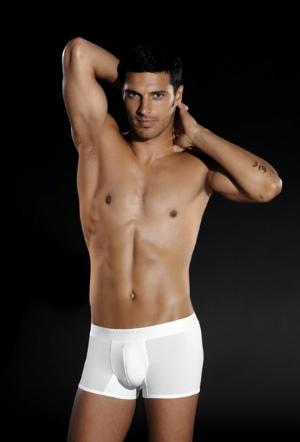 perofil underwear italian brand - white boxer briefs