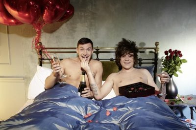 Frankie Cocozza and Kirk Norcross