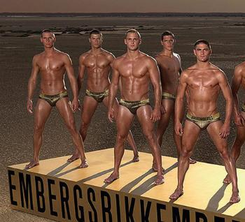 gold underwear for men bikkembergs