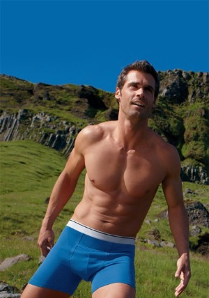 jockey male underwear model chad pinther
