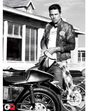 channing tatum fashion armani jeans