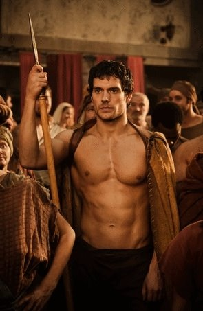 henry cavill shirtless old