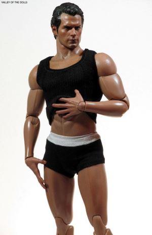 henry cavill underwear doll