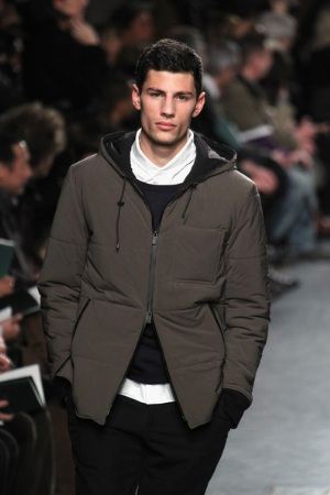 hermes designer menswear fall winter coats