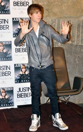 justin bieber fashion style leather grey