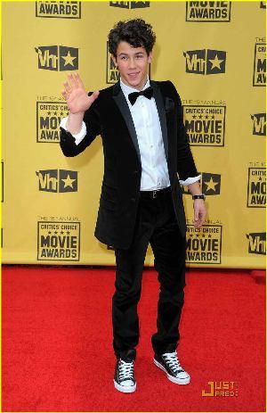 Nick Jonas Tuxedo Suit