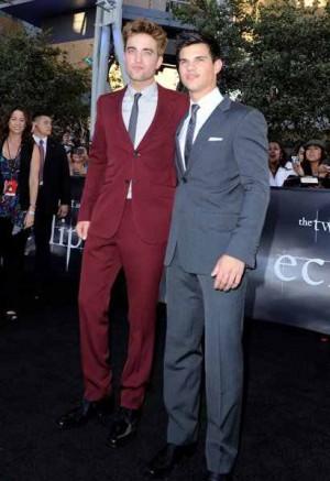 celebrities wearing gucci suit - robert pattinson