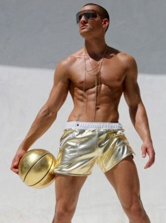 gold underwear for men - rufskin mettalic