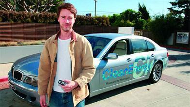 celebrity green cars - edward norton