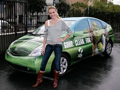 celebrity green cars - kate bosworth
