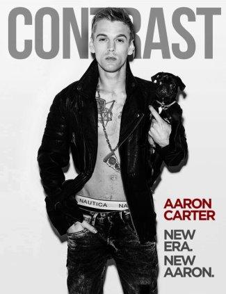 aaron carter underwear contrast magazine