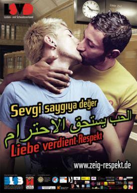 celebrity gay kiss - german celebrities