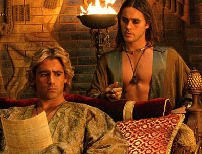 jared leto gay for colin farrell - Hephaistion in alexander movie