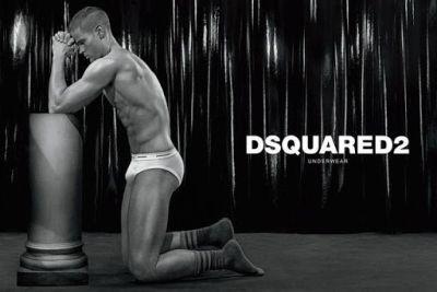 travis hanson - dsquared underwear model