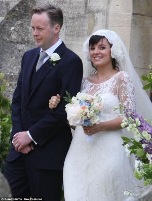 lily allen wedding dress by delphine manivet