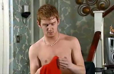 mikey north shirtless gary windass corrie