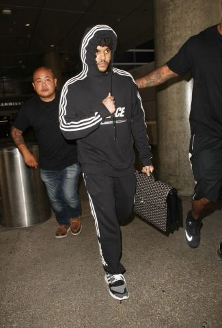 celebrities wearing adidas hoodie - the weekend palace