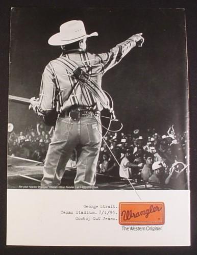 cowboy wrangler jeans - george strait