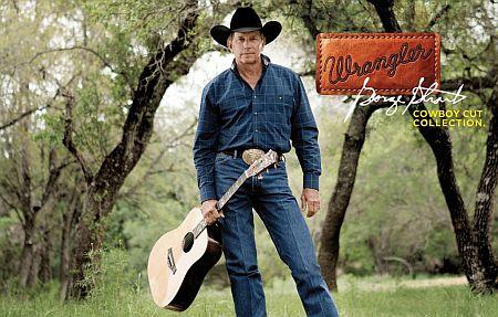 cowboy wrangler jeans - george strait2