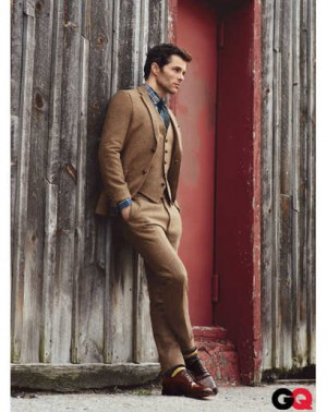 gant rugger tweed suits