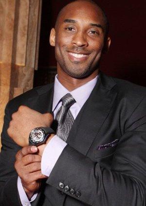 Celebrities Wearing Girard-Perregaux Kobe Bryant