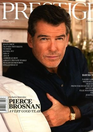Celebrities Wearing Girard-Perregaux pierce brosnan