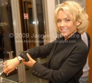 celebrities wearing jaeger-lecoultre watch kelly clarkson