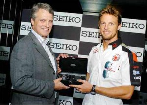 seiko watch brand ambassador jenson button
