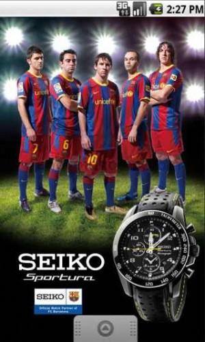 seiko watch brand ambassadors barcelona fc