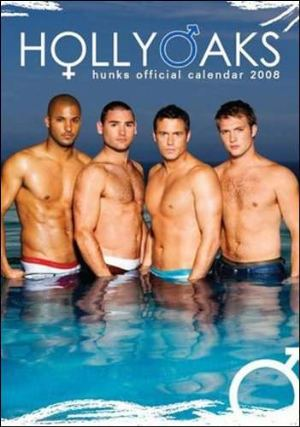 hollyoaks hunks calendar 2008