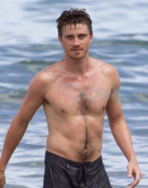 Garrett Hedlund shirtless body