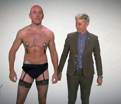 matt lauer shirtless underwear