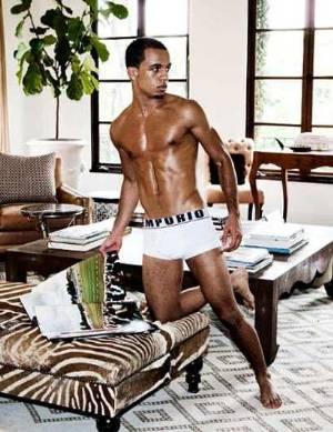 aston merrygold underwear - white armani boxer briefs