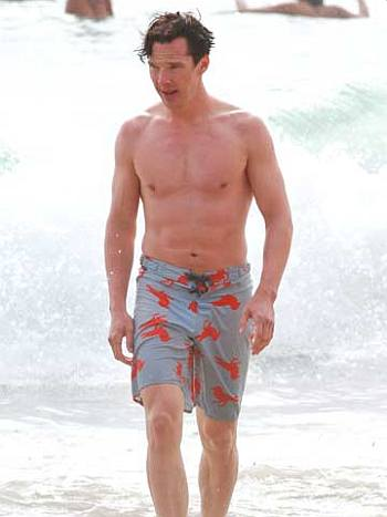 benedict cumberbatch abs shirtless