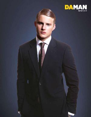 Alexander Ludwig Fashion Suit Giorgio Armani