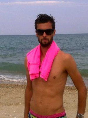 male tennis player underwear - Benoit Paire