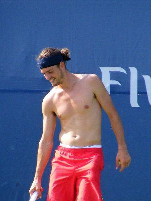 male tennis player underwear - Frank Dancevic