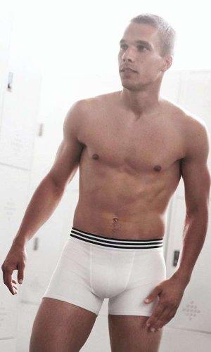 lucas podolski shirtless