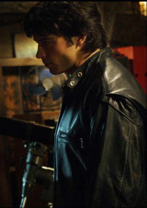 TOM WELLING SMALLVILLE LEATHER jacket BY SCHOTT NYC