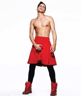 designer skirts for men sean opry
