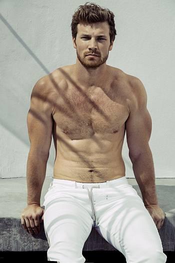 derek theler body shirtless hairy chest