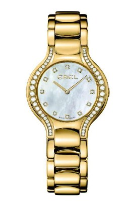 ebel yellow gold round face