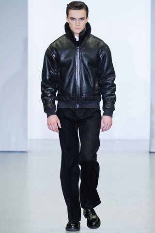 winter leather jackets for men by calvin klein