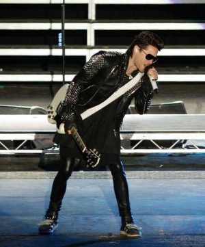 leather jacket for men in their 40s - jared leto