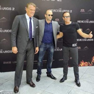 jean claude jeans - with jason statham and dolph lundgren
