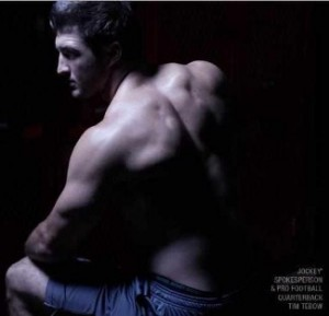 tim tebow jockey underwear model