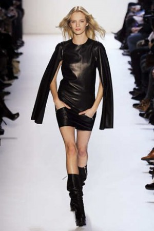 lacoste leather dress - fall winter 2012-2013