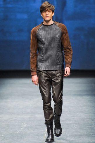 best designer leather pants for men diesel