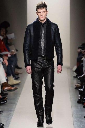 best designer leather pants for men bottega veneta